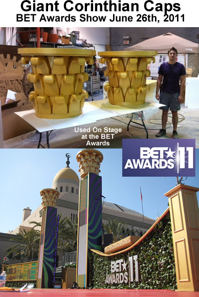 BET Awards Custom Props for Red Carpet Event