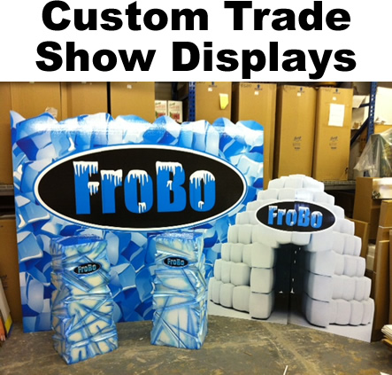 Custom Trade show booths - Displays - Props - Design
