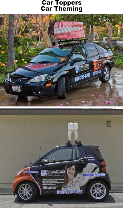 Custom Car Toppers Foam Props Displays