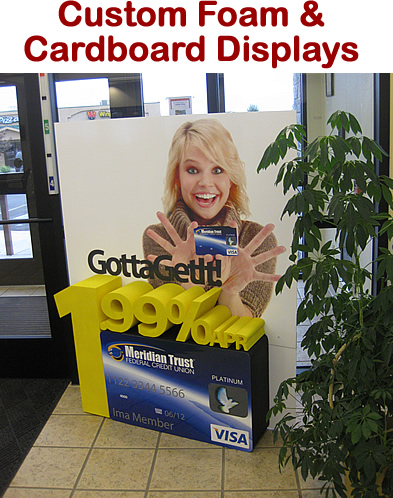 Custom Made Retail Displays and Props