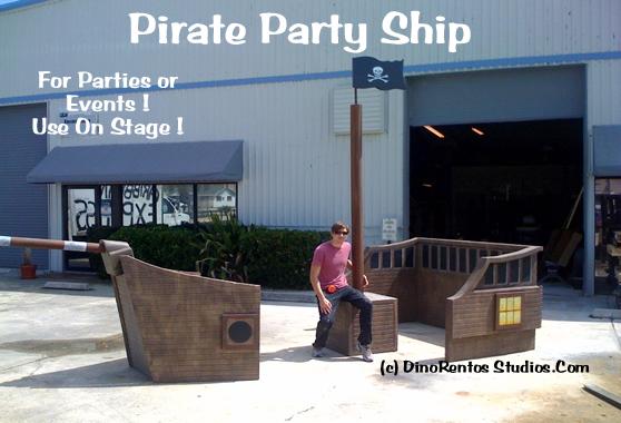 Pirate Ship Foam Prop