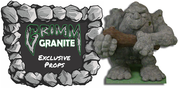 Grimm Granite Foam Halloween Props