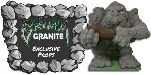 Grimm Granite Foam Halloween Props