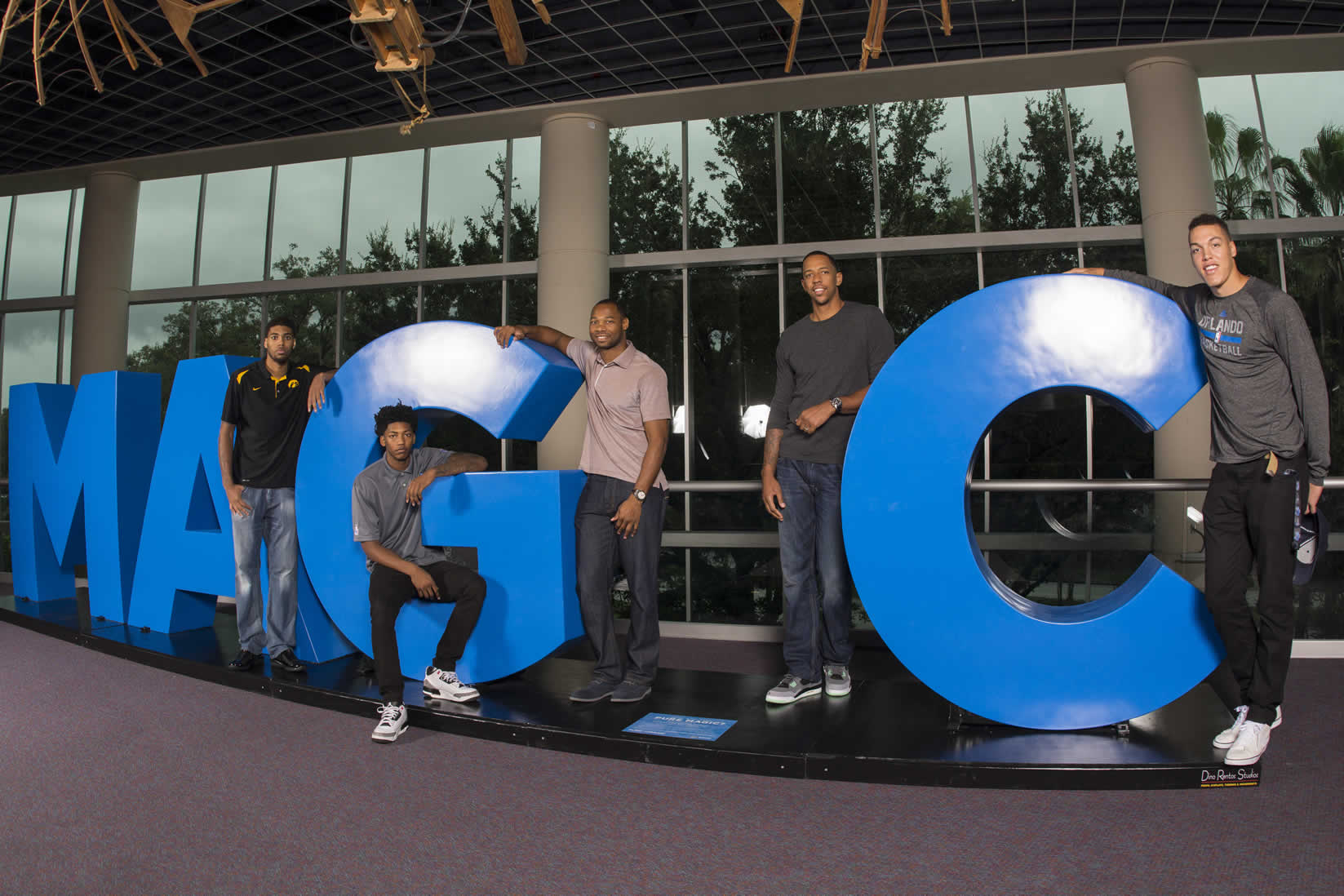#PureMagicSweeps - Orlando Magic Giant Sculpture of Letters
