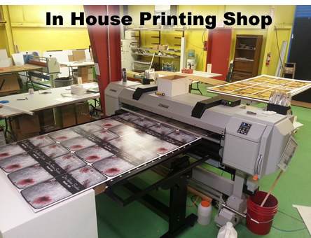 Wide Format Printing - Digital - Panners - Posters - Window Clings - Stickers - Diecut