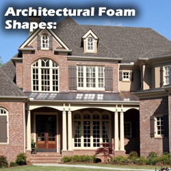 Architectural Foam Shapes