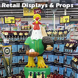 Retail Displays, Props and Printing