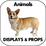 Animals Cardboard Cutout Standup Props