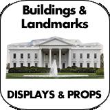 Buildings & Landmarks Cardboard Cutout