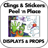 Clings &amp; Stickers: Peel &#039;n&#039; Place