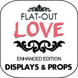 Flat-Out Love - Enhanced Edition Cardboard Cutout Standup Props