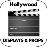 Hollywood Cardboard Cutout Standup Props