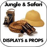 Jungle & Safari Cardboard Cutout Standup Props