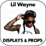 Lil Wayne Cardboard Cutout Standup Props