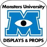 Monsters University Cardboard Cutout Standup Props