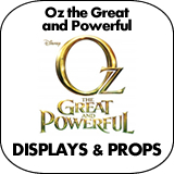 Oz the Great and Powerful Cardboard Cutout Standup Props
