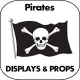 Pirates Cardboard Cutout Standup Props
