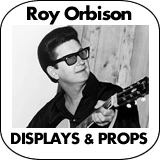 Roy Orbison Cardboard Cutout Standup Props