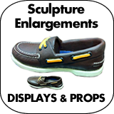 Sculpture Enlargement Displays & Props