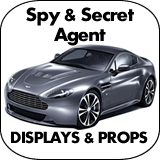 Spy & Secret Agent Cardboard Cutout Standup Props