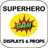 Superhero Cardboard Cutouts