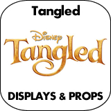 Tangled Cardboard Cutout Standup Props