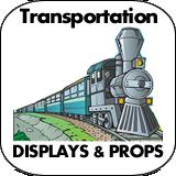 Transportation Cardboard Cutout