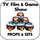 TV, Film, & Game Show Props & Sets