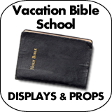 Vacation Bible School Cardboard Cutout Standup Props