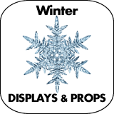 Winter Cardboard Cutout