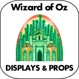 Wizard of Oz Cardboard Cutout Standup Props