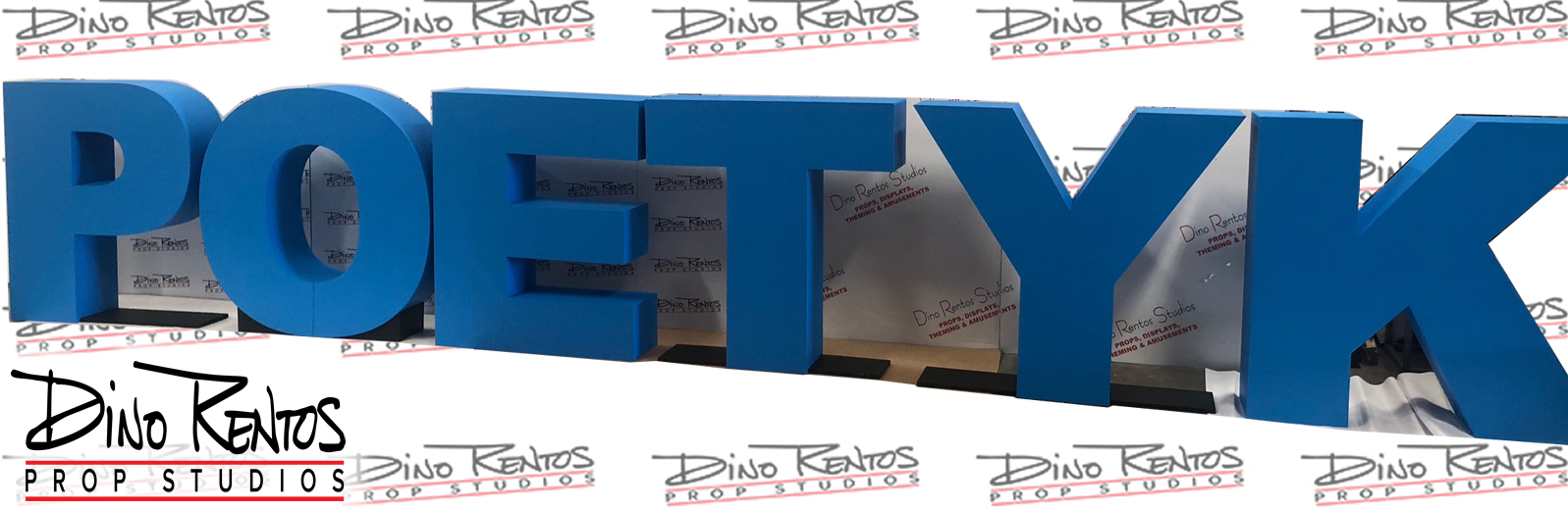 Painted Foam Letters for corporate events and meetings displays