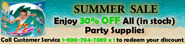 Party Supplies Discount