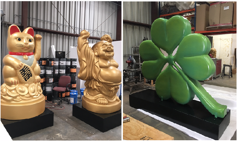 Custom Made Big Giant Foam Props - Sculptures  Made to Order