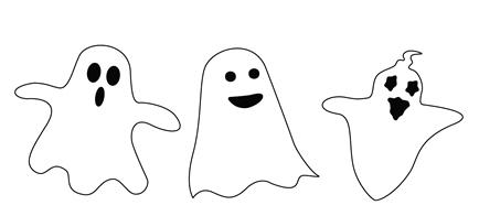 Ghost Cutout