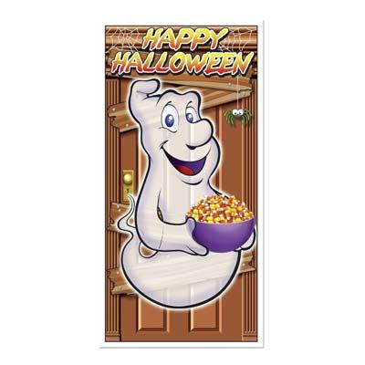 """Happy Halloween Door Cover 30"""" x 5'"""