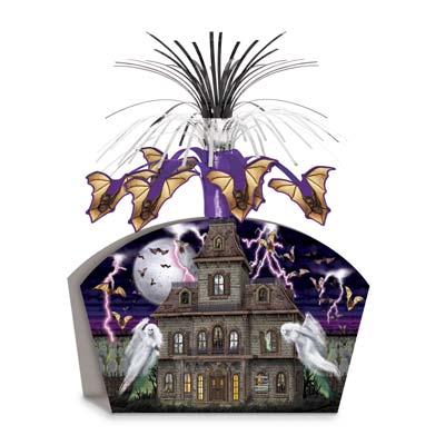 Haunted House Centerpiece 13""