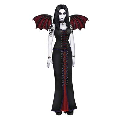 Jointed Goth Beauty 6'