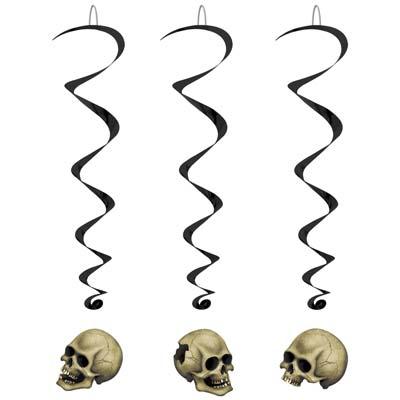 """Skull Whirls 3' 4"""""""