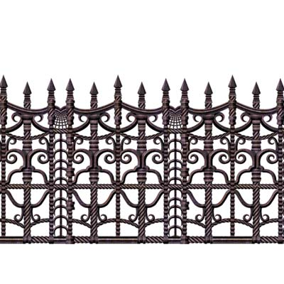 "Creepy Fence Border 24"" x 30'"