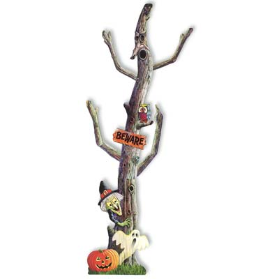 Jointed Haunted Tree 6'