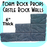 Castle Wall Rocks - Rock Wall - 6 Rocks