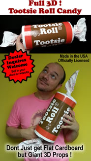 Tootsie Roll 3D Foam Prop Candy