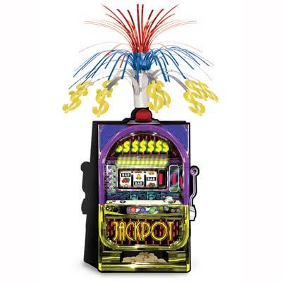 """Slot Machine Centerpiece 15"""""""