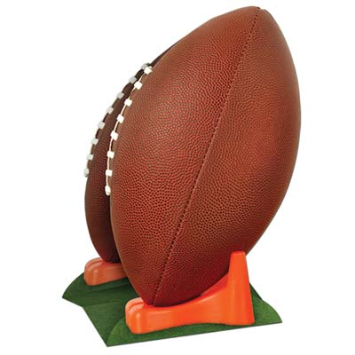 "3-D Football Centerpiece 11"" Cardboard Cutout"