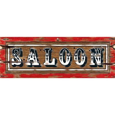"Saloon Sign 8"" x 22"""