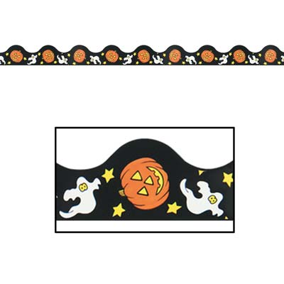Halloween Border Trim 37'