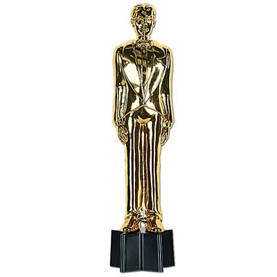 """Awards Night Male Statuette 9"""""""