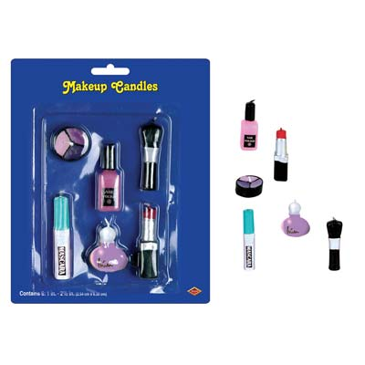 """Makeup Candles 1""""-2½"""""""