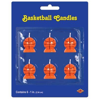 "Basketball Candles 1¼"""